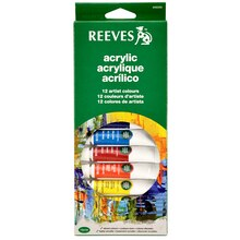 Reeves Acrylic Color Set, 12 Count