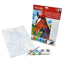 Reeves Painting By Numbers, Horse
