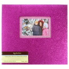 Purple Glitter Scrapbook Album by Recollections