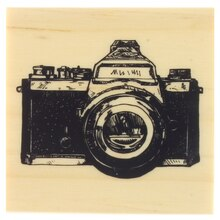 Camera Wood Stamp by Recollections™