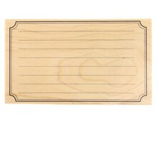 Blank Card Wood Stamp by Recollections™