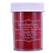 Cherry Opaque Embossing Powder by Recollections