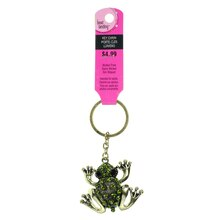 Frog Key Chain by Bead Landing