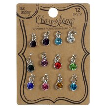 Charmalong™ Crystal Gems Charms by Bead Landing