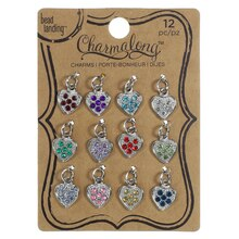 Charmalong™ Heart Charms by Bead Landing