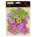 Jewel Flower Embellishments by Recollections™ Pastels