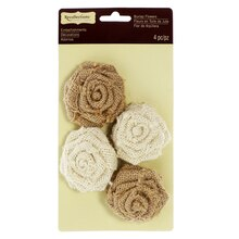 Burlap Roses by Recollections