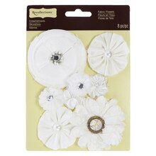 Fabric Flower Embellishments by Recollections