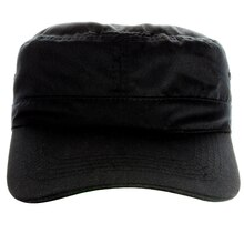 Military Cap by Imagin8, Black, Front View