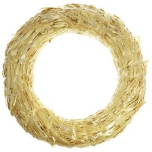 Straw Wreath by Ashland®, 8""