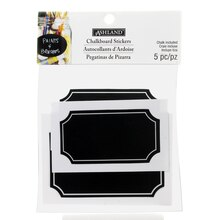 Rectangular Chalkboard Stickers by Ashland