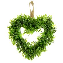 Boxwood Heart Wreath by Ashland