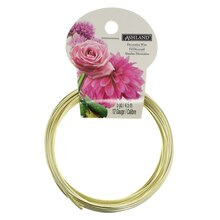 Gold Aluminum Decorative Wire by Ashland