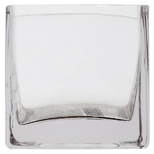"3"" Square Glass Vase by Ashland"