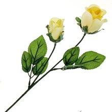Yellow Dew Rose Bud Stem by Ashland