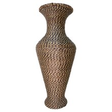 Two-Tone Seagrass Vase by Ashland