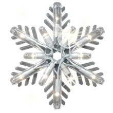 GE Snowflake Icicle Lights, Random Sparkle