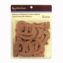 Chipboard Alphabet Stickers by Recollections