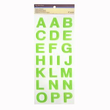 Epoxy Alphabet Stickers by Recollections™ Lime