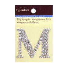 Medium Bling Monogram by Recollections