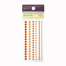 Assorted Rhinestone Stickers by Recollections™ Orange
