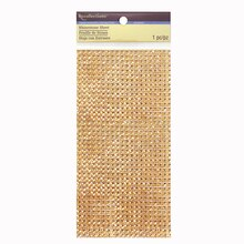 Rhinestones Sheet by Recollections™ Gold