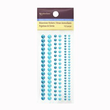Assorted Rhinestone Stickers by Recollections™ Turquoise