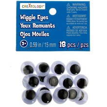 15 mm Wiggle Eyes by Creatology