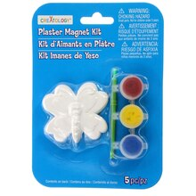 Butterfly Plaster Magnet Kit by Creatology