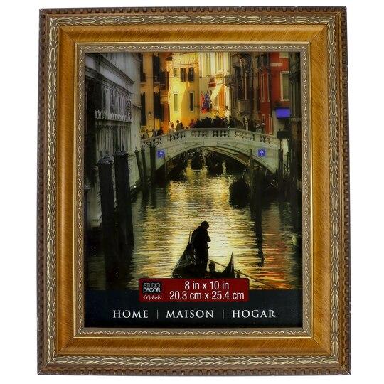 Studio D Cor Home Collection Gold Pompeii Frame 16 X 20