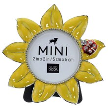Mini Sunflower Tabletop Frame by Studio Decor