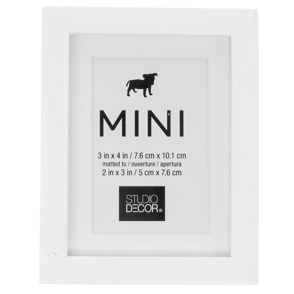 Mini Frame With Mat by Studio Décor®