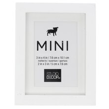 white mini frame by studio decor front - Mini Frame