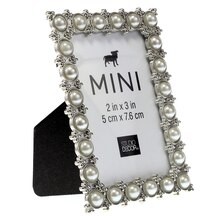 mini pearl tabletop frame by studio decor side view