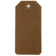 Large Kraft Tags by Recollections