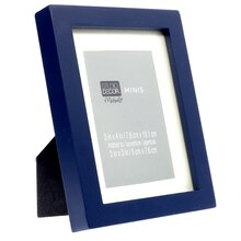 Blue Matted Mini Frame by Studio Décor