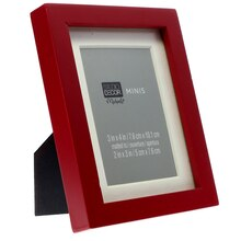 Red Matted Mini Frame by Studio Décor