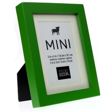 Green Matted Mini Frame by Studio Décor