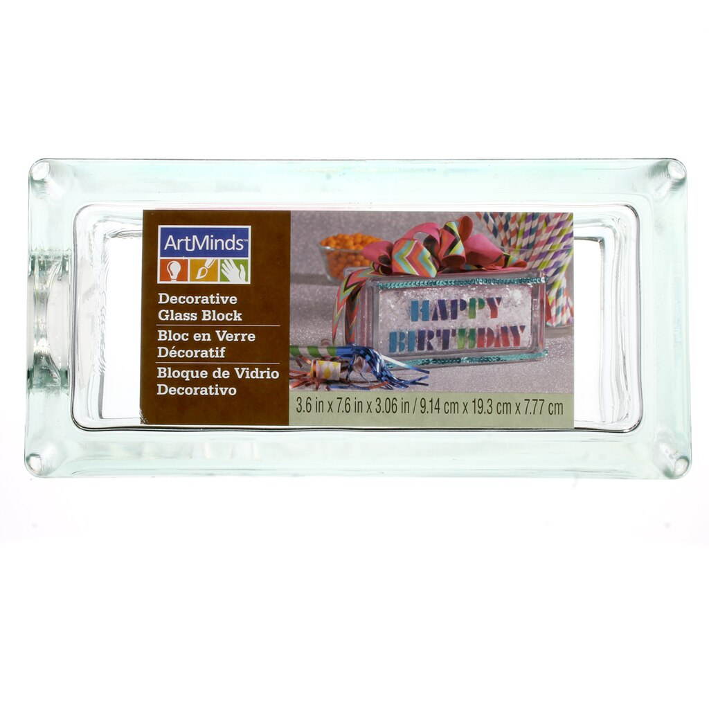 Decorative glass block by artminds for Designer glass block