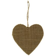 Burlap Heart by ArtMinds