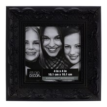 Black Ornate Frame by Studio Decor