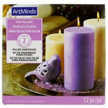 Pillar Candle Starter Kit by ArtMinds