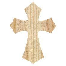 Wood Hanging Cross by ArtMinds
