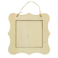 hanging wooden frame by artminds