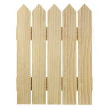 Wood Fence by ArtMinds