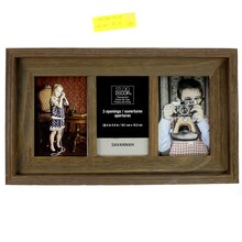 Barnwood Gray Wash Collage Frame by Studio Decor