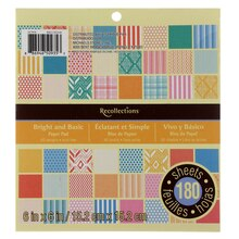 Bright & Basic Paper Pad by Recollections