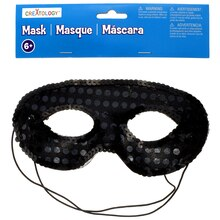 Black Sequin Mask by Creatology