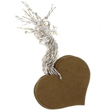 Heart Kraft Tags by Recollections™