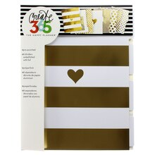Create 360 The Happy Planner Gold Dividers